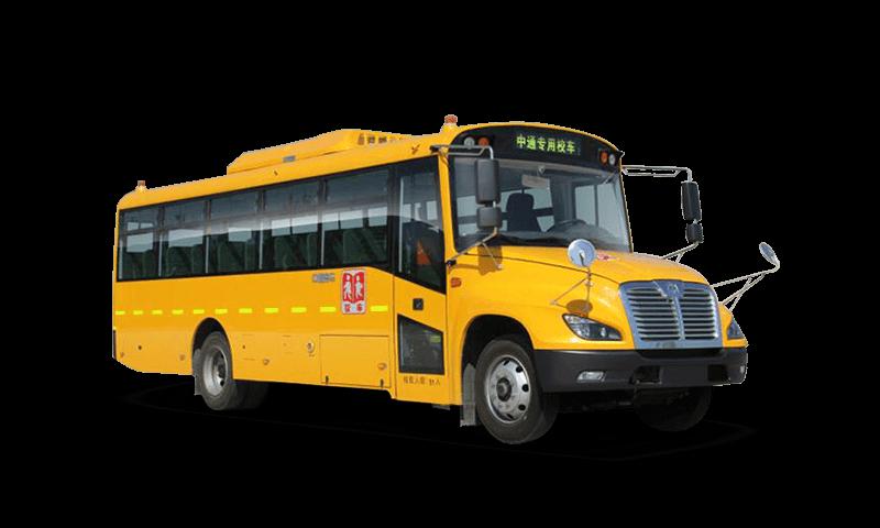 中通牌LCK6736DZX型中小學生專用校車 24-27座小學生專用校車圖片