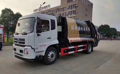 10吨压缩垃圾车品牌推荐 国六压缩垃圾车