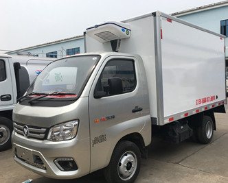 国六福田汽油冷藏车