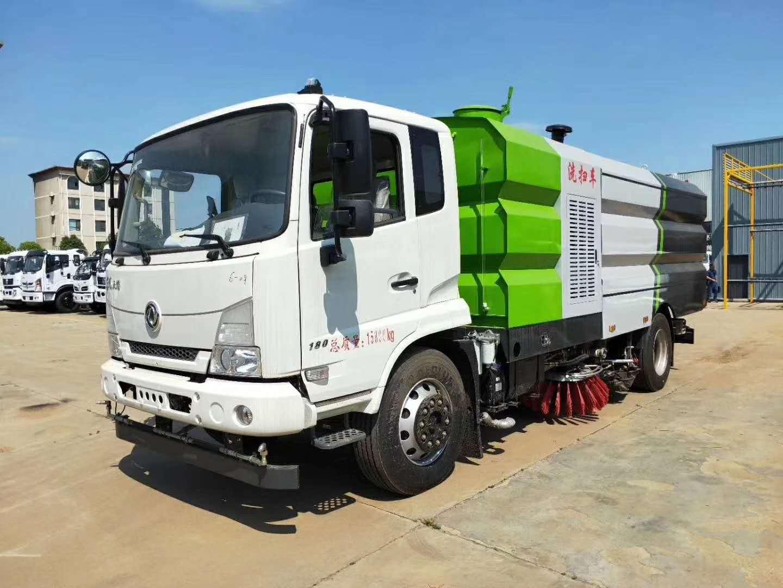 东风天锦16吨洗扫车改装厂家哪家好图片