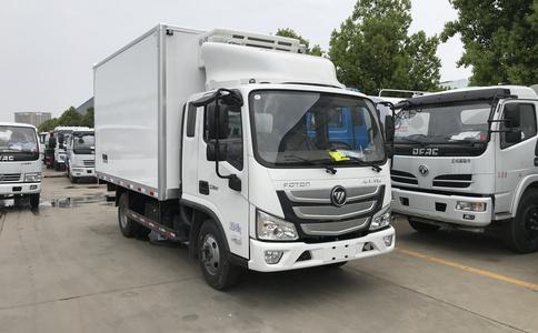 小龙虾运输车冷冻保鲜食品运输车价格配置