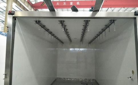 肉鉤冷藏車,可拆卸式龍門架肉鉤保鮮冷凍車整車不超重
