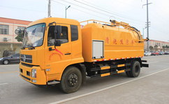 15吨管道疏通车价格-清洗吸污车