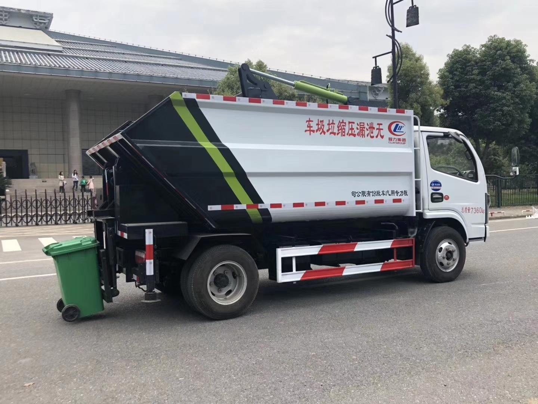 国六东风D6多利卡自装卸式垃圾车 图片