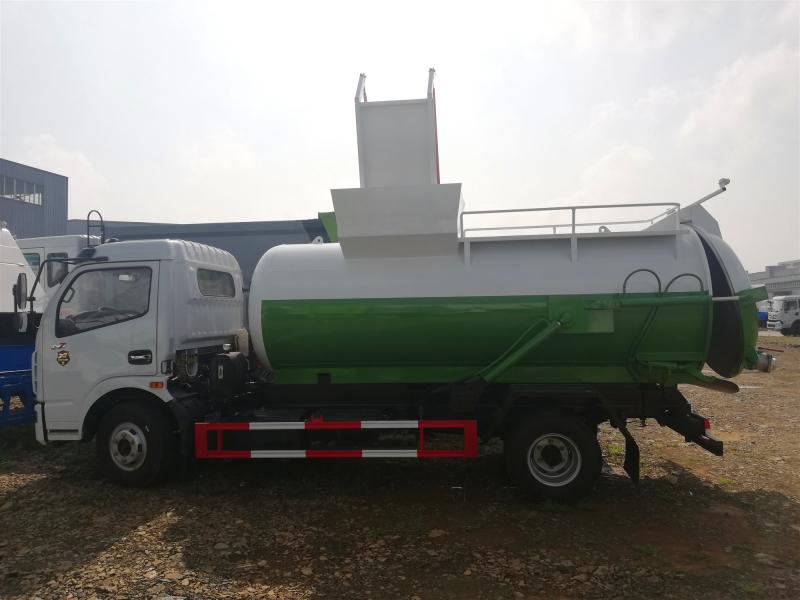 4吨餐厨垃圾车,东风D7餐厨垃圾车