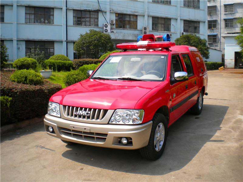 江鈴皮卡消防車06