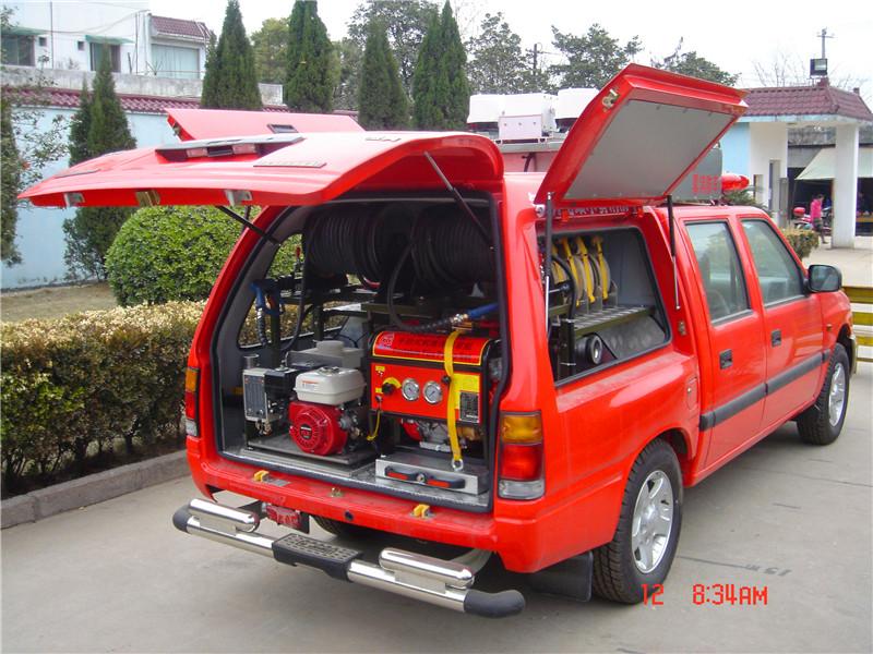 江鈴皮卡消防車11