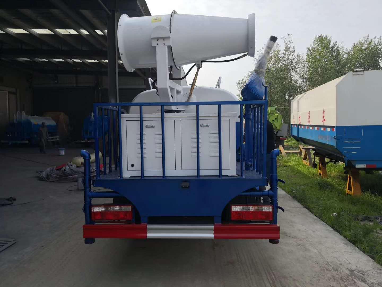 东风5吨洒水车带雾炮115马力厂家价格图片