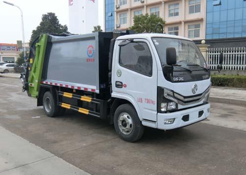 国六压缩垃圾车图片 厂家量产 价格低图片