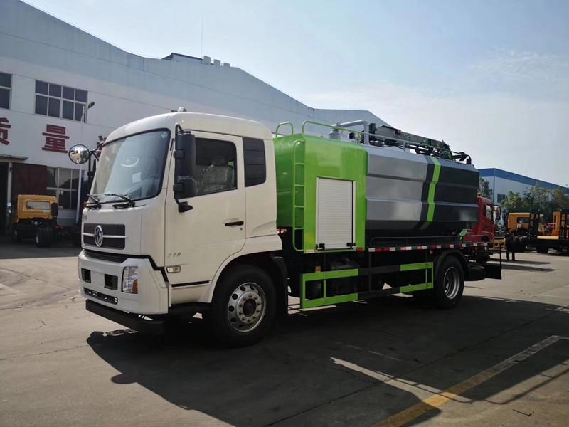 东风天锦14立方清洗吸污车-14立方新款可改装定做价格
