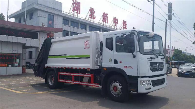 新中绿国六14方垃圾车 压缩垃圾车厂家定做 价格低图片