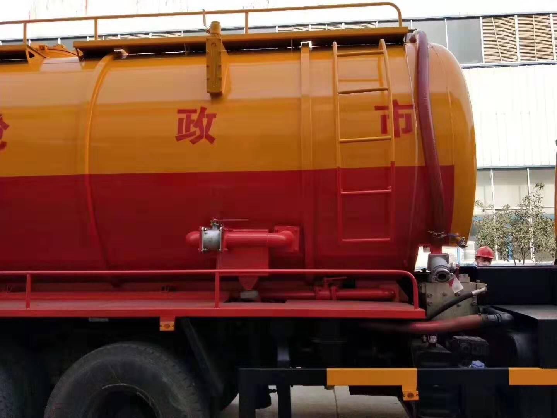 東風天龍后八輪20噸清洗吸污車圖片