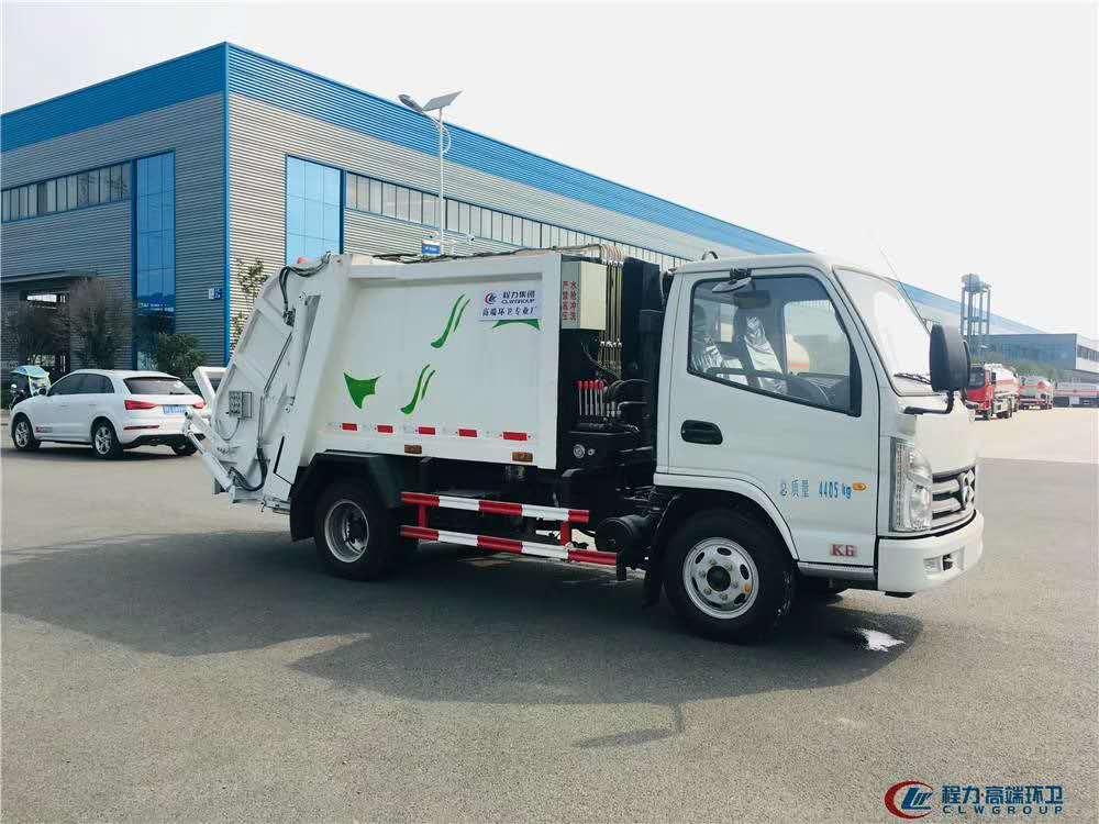 凯马蓝牌压缩式垃圾车厂家,支持分期付款