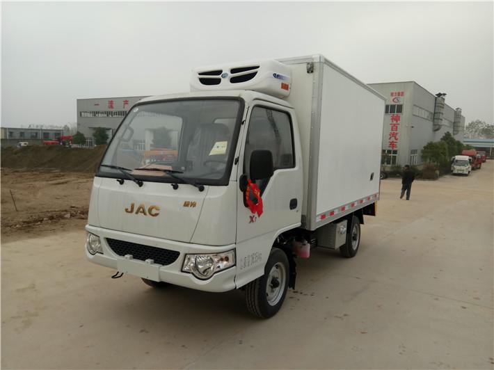江淮康铃3.1米小型冷藏车
