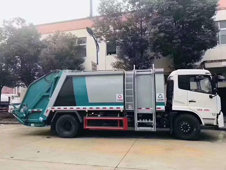 14立方垃圾车-东风天锦垃圾车分类图片厂家直销多少钱视频
