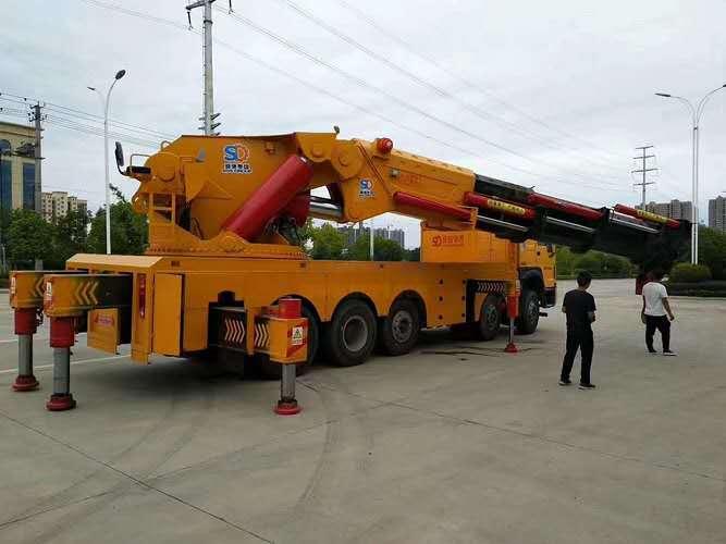 二手80吨折臂吊机/二手80吨自备吊/二手80吨大低空吊
