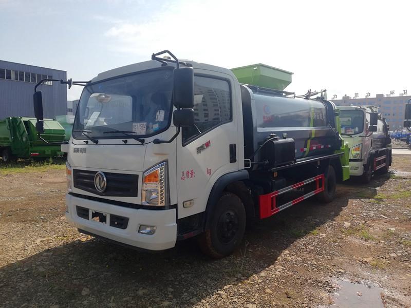 东风御虎餐厨车,4吨餐厨垃圾车
