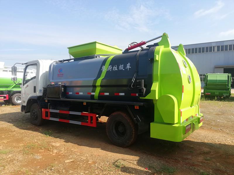 东风御虎餐厨车,4吨餐厨垃圾车图片
