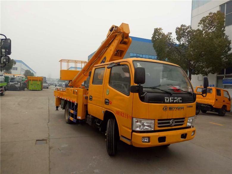 东风双排16米伸缩臂式高空作业车