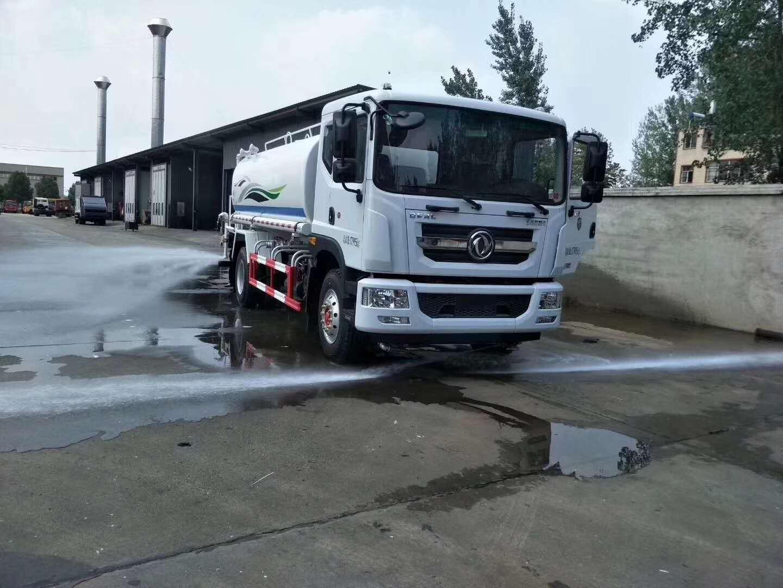 东风多利卡D9康机12方绿化喷洒车