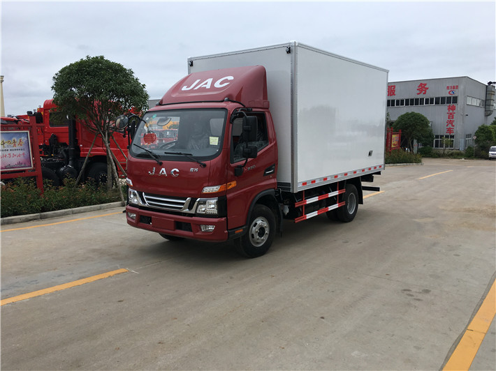 江淮V5骏铃4米2冷藏车