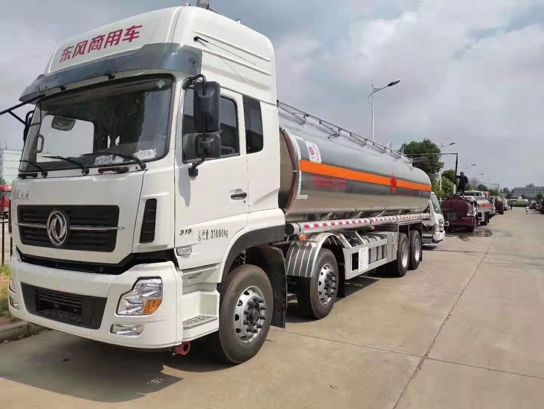東風天龍鋁合金28-30方運油車