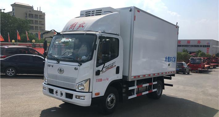 解放虎V4米2冷藏车