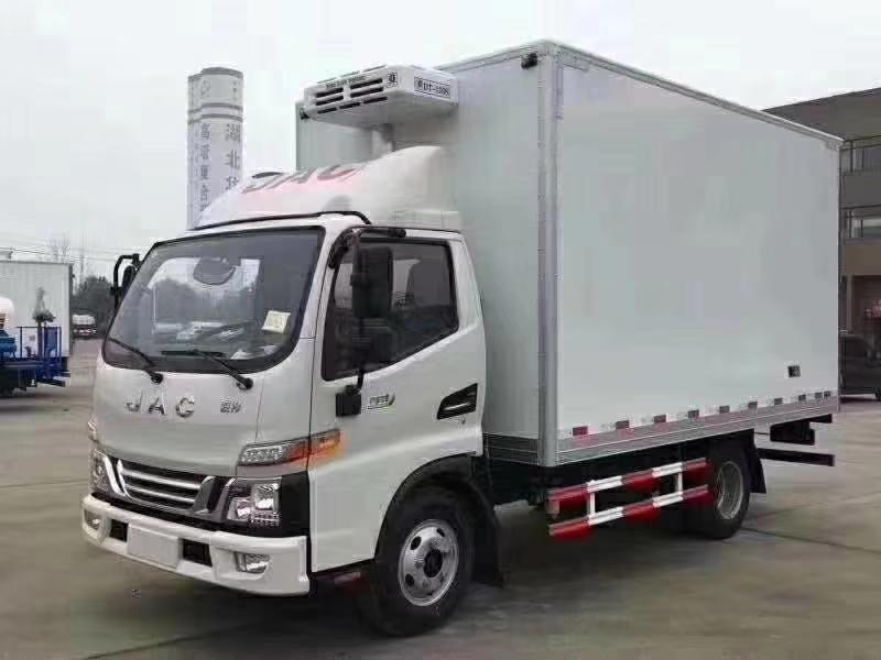 国六江淮V6骏铃4米2冷藏车(热销中)