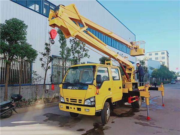 五十铃18米高空作业车 18米高空作业车厂家