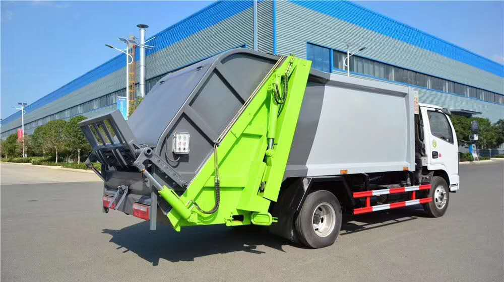 国六6方压缩垃圾车可上户,有环保支持分期付款
