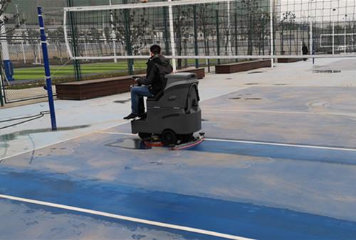 绿漆洗地机 驾驶式洗地机  大型洗地机 重庆金和洗地机视频