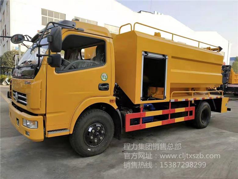 东风大多利卡10m³清洗吸污车