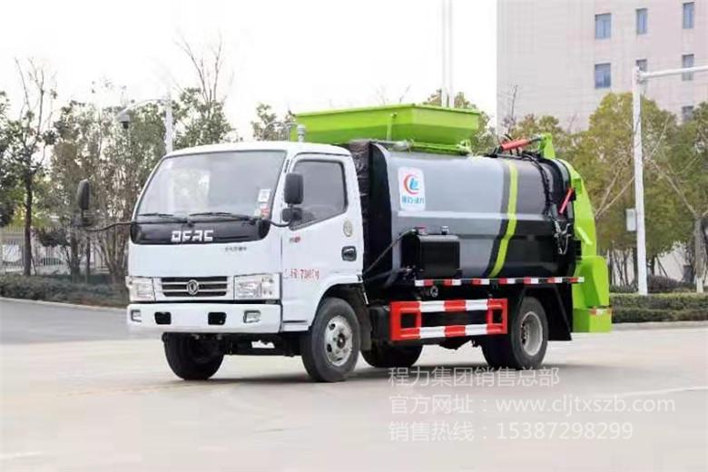 东风小多利卡6m³方罐餐厨垃圾车