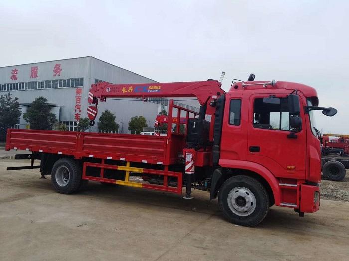 江淮K5单桥长兴6.3吨吊机