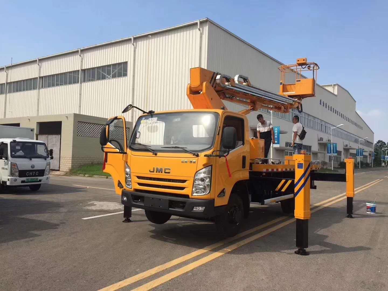 广西南宁22米直臂高空作业车详细配置图片