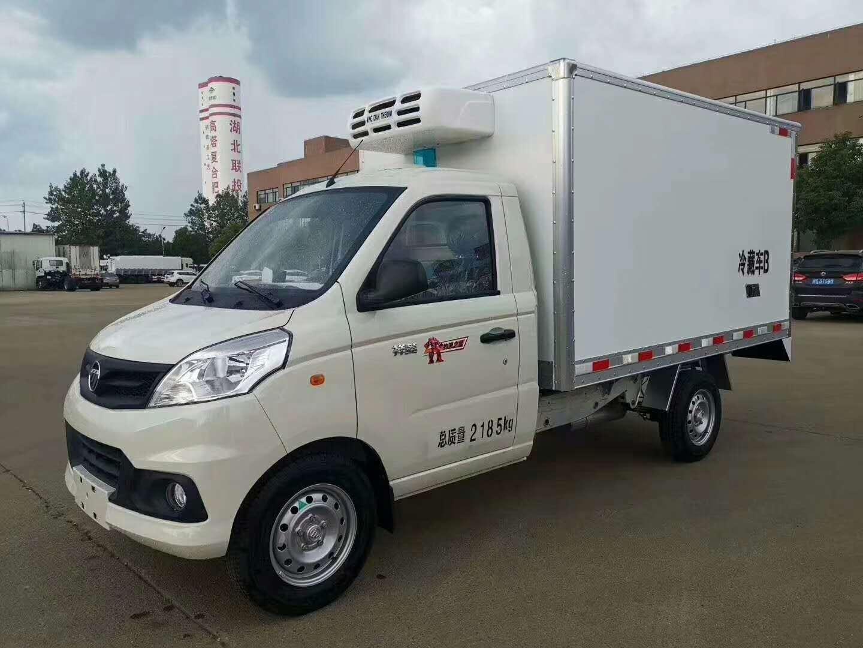 国六福田祥菱V1小型冷藏车