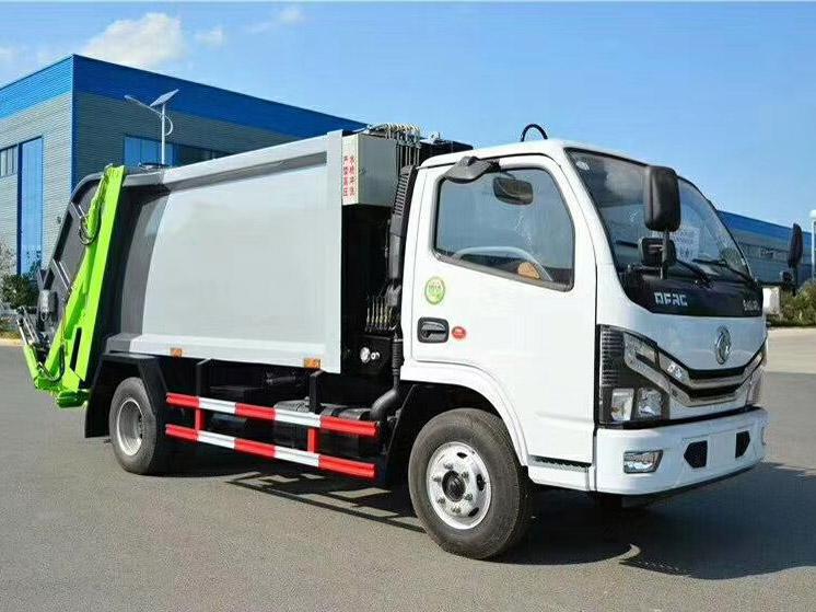 国六东风(5方)压缩式垃圾车