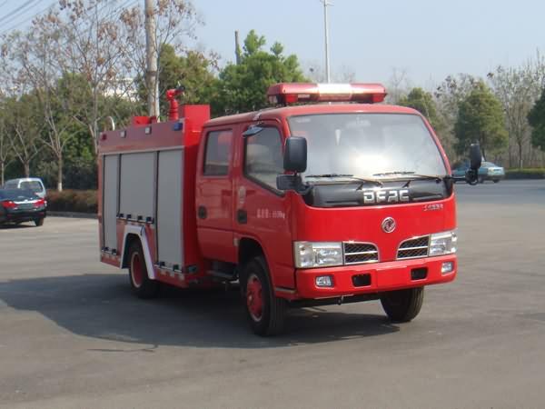 湖北楚胜水罐消防车的价格多少钱图片