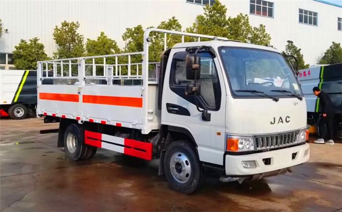 国五5米江淮5.1吨气瓶运输车
