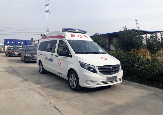 國六奔馳Vito(新威霆)高頂監護型救護車