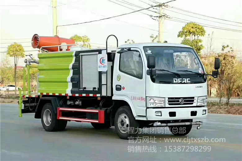 国六东风小多利卡4.5m³多功能抑尘车