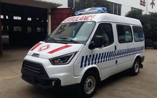 江铃特顺短轴救护车图片