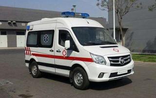福田图雅诺短轴救护车图片