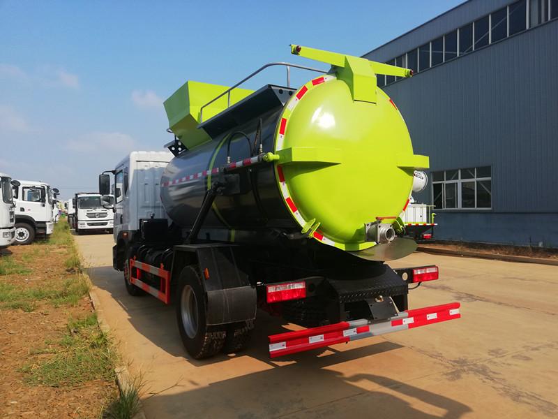 D9东风餐厨垃圾车,8.5吨到4吨餐厨垃圾车