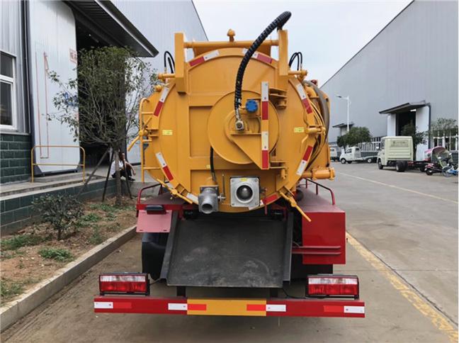 国五9吨东风清洗吸污车