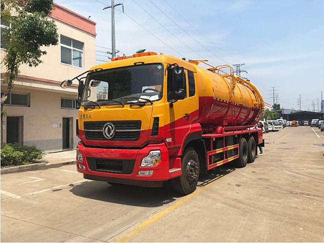 20吨东风天龙清洗吸污车