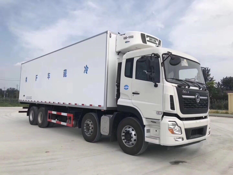 东风天龙(9.6米)冷藏车图片