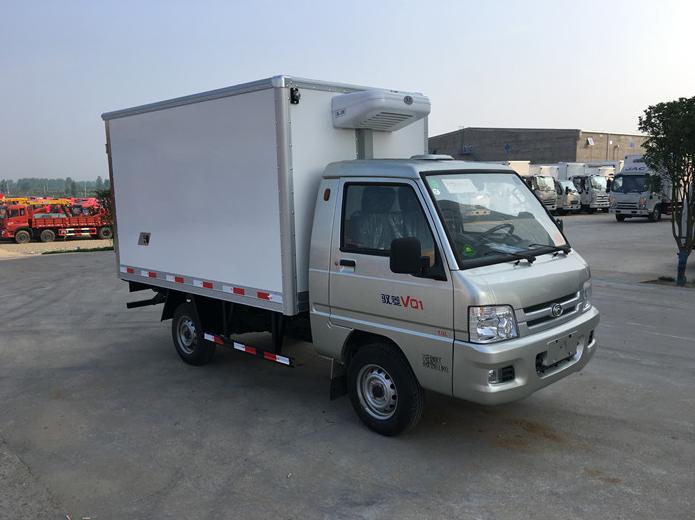 福田驭菱2.6米冷藏车厂价低价直销