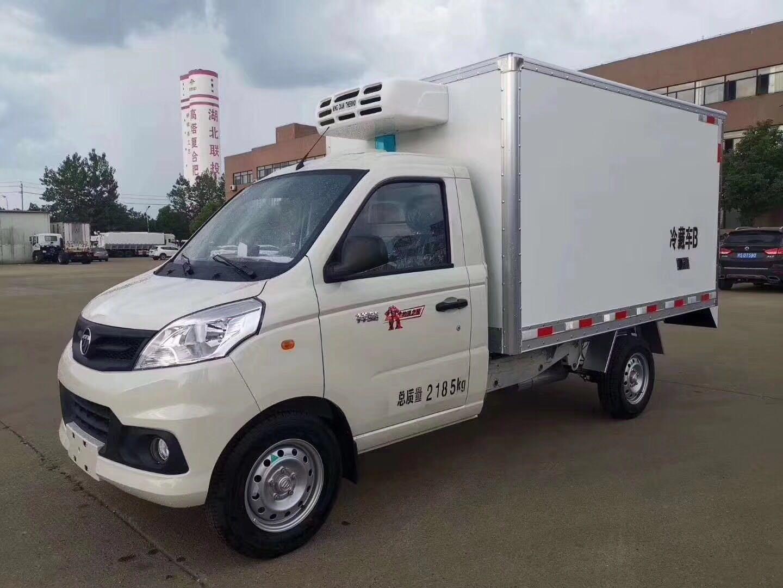 福田祥菱V1汽油冷藏车