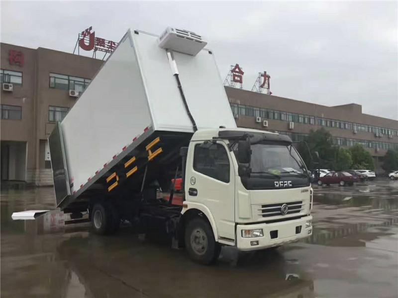 东风多利卡D7运输冷藏车5.15米